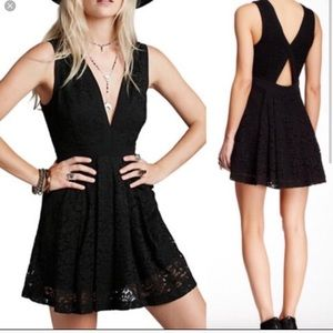 Free People Lovely In Lace Dresd